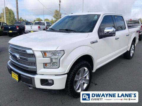 2015 Ford F-150 Platinum 4WD